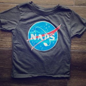 Other - Naps T-Shirt that looks like the NASA logo